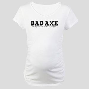 Bad Axe Visit Maternity T-Shirt