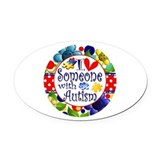 Autism Oval Car Magnets