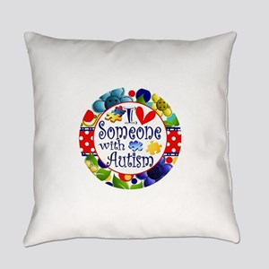I Love Someone Everyday Pillow