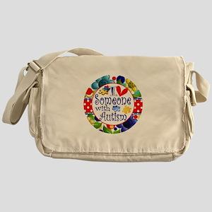 I Love Someone Messenger Bag