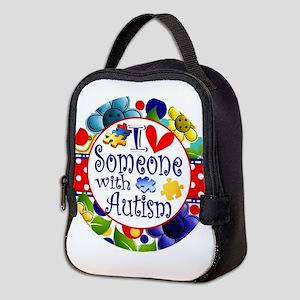 I Love Someone Neoprene Lunch Bag