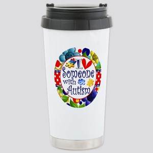 I Love Someone Stainless Steel Travel Mug