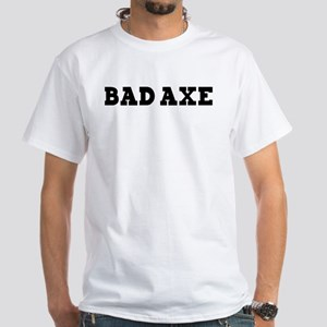Bad Axe White T-Shirt