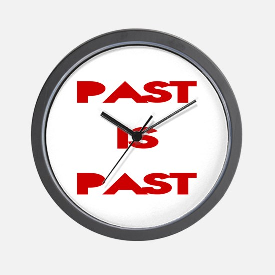 Past Is Past Designs Wall Clock