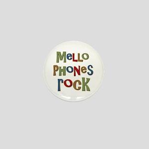 Mellophones Rock Player Lover Mini Button