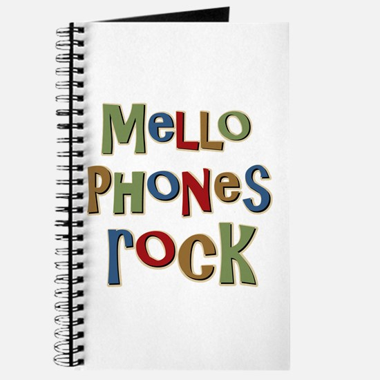 Mellophones Rock Player Lover Journal