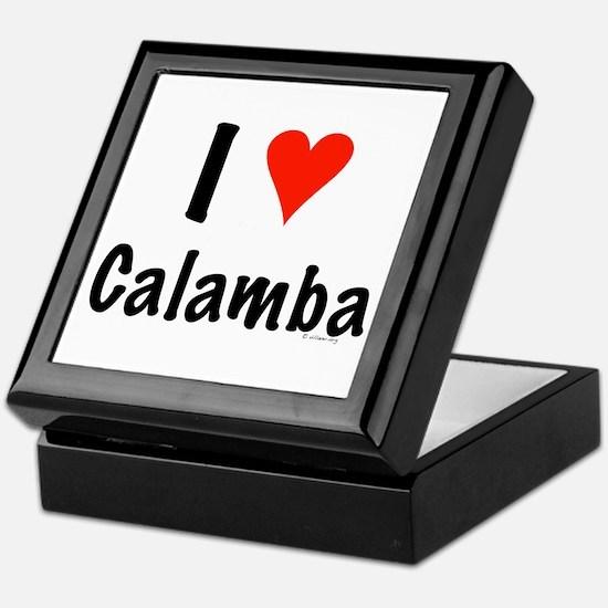 I love Calamba Keepsake Box