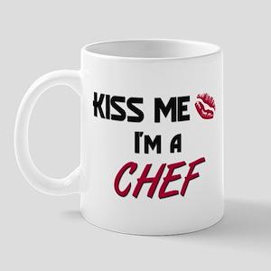 Kiss Me I'm a CHEF Mug