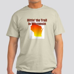Hittin' The Trail In Wisconsin Light T-Shirt
