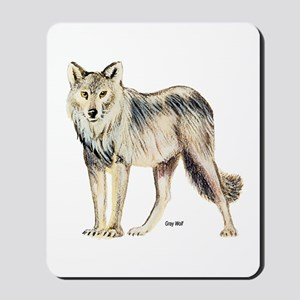 Gray Wolf Mousepad