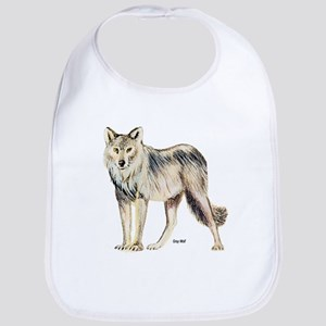 Gray Wolf Bib