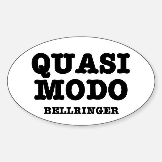 QUASIMODO - BELLRINGER:- Decal