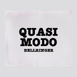 QUASIMODO - BELLRINGER:- Throw Blanket