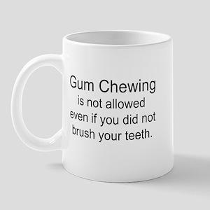 Gum Chewing Mugs