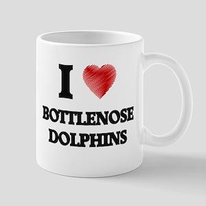 I love Bottlenose Dolphins Mugs