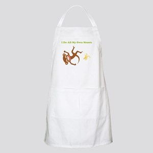 I Do All My Own Stunts BBQ Apron