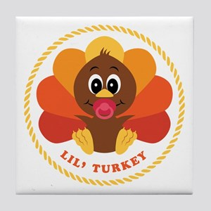 Lil' Turkey Tile Coaster