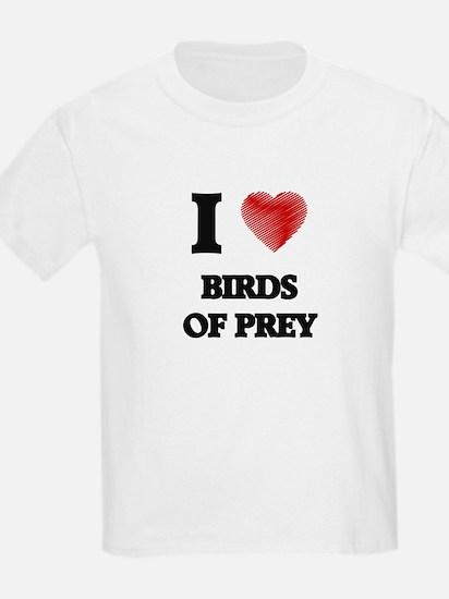 I love Birds Of Prey T-Shirt