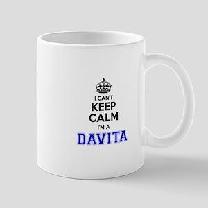 Davita I cant keeep calm Mugs