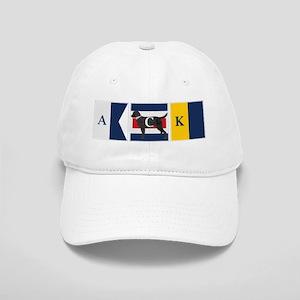 Preppy Lab Dog ACK Signal Flag Baseball Cap