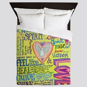 Spirit Prayer Art Queen Duvet