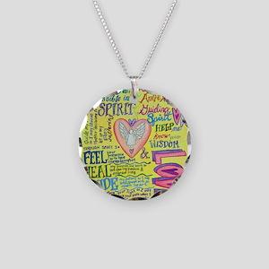 Spirit Prayer Art Necklace