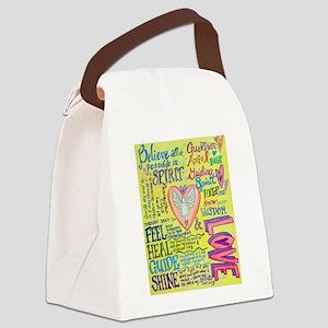 Spirit Prayer Art Canvas Lunch Bag