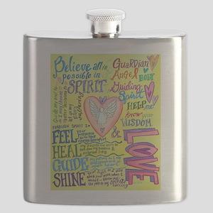 Spirit Prayer Art Flask