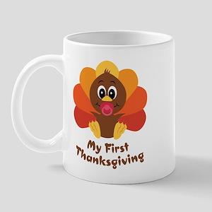 My 1st Thanksgiving Mug