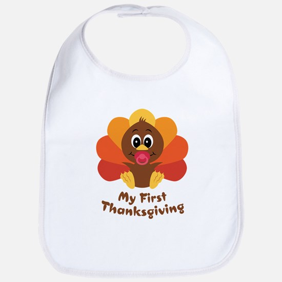 My 1st Thanksgiving Bib