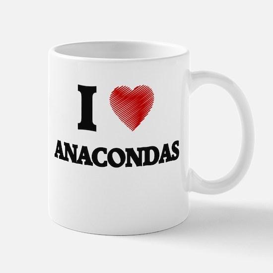 I love Anacondas Mugs