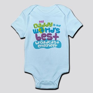 Broadcast Engineer Gifts for Kids Infant Bodysuit