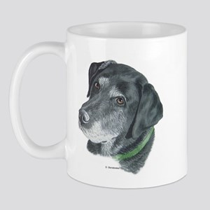 Senior Black Lab Mug