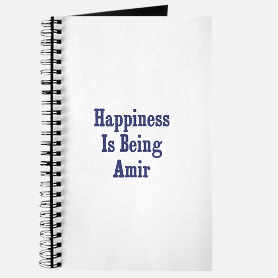 Happiness is being Amir Journal