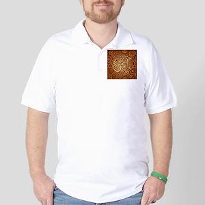 Decorative Ornamental Pattern Golf Shirt