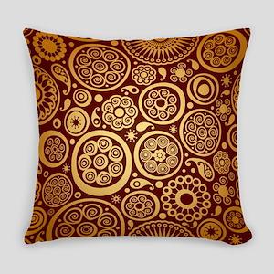 Decorative Ornamental Pattern Everyday Pillow