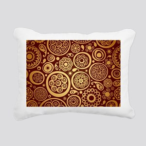 Decorative Ornamental Pa Rectangular Canvas Pillow