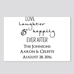 Love Laughter and Happily Ever After Postcards (Pa