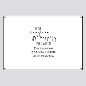 Love Laughter and Happily Ever After Banner