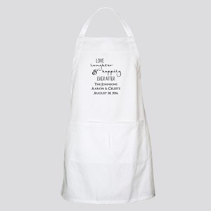 Love Laughter and Happily Ever After Apron