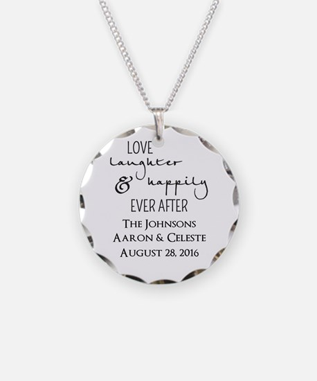 Love Laughter and Happily Ever After Necklace