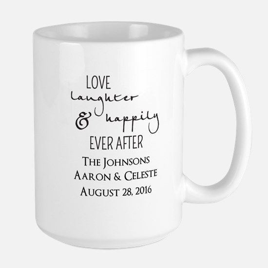 Love Laughter and Happily Ever After Mugs