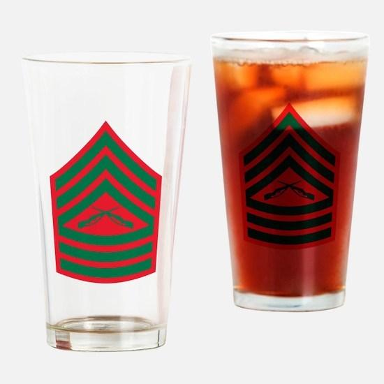 Master Sergeant Drinking Glass