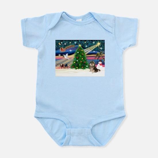 XmasMagic/Pom (prti) Infant Bodysuit