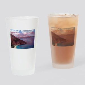 Stop, Look, and Listen Drinking Glass