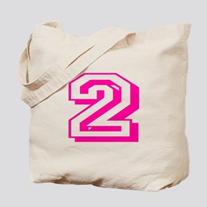 2 Pink Birthday Tote Bag