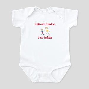 Kaleb & Grandma - Buddies Infant Bodysuit