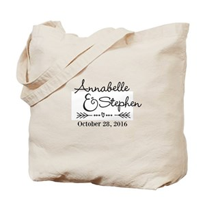 2b7f90621aaf93 Wedding Canvas Tote Bags - CafePress