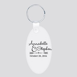 Couples Names Wedding Personalized Keychains