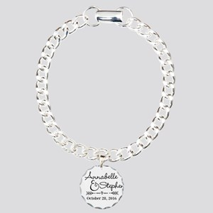 Couples Names Wedding Personalized Bracelet